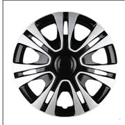 1pcs Universal 15 Car Auto Wheel Cover Rim Hubcap Wheelcover Abs Easy Install