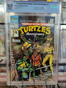 Tmnt Adventures 1 1988 - Cbcs Grade 9.8 - 1st Appearance Bebop And Rocksteady