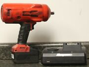 Snap-on Ct9075 1/2 Drive 18v Cordless Impact Wrench W/battery And Charger