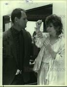 1986 Press Photo Fred Dryer And Candy Clark Act In Hunter Episode - Hcp40007