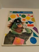 Whitman 1976 Sesame Street Frame Puzzle Look For Shapes With Sherlock Hemlock