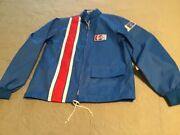 New Vintage 70s Mod Retro Small Pepsi Cola Racing Jacket With Patches Like New