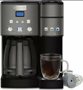 Cuisinart Ss-15cp 12 Cup Coffee Maker And Single-serve Brewer - Black