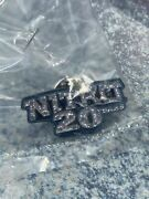 Six Flags Great Adventure Nj Nitro Members Limited Edition 20 Years Pin Mint