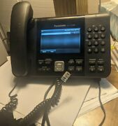 Panasonic 6 Line Office Phone Kx-utg300b Works.power Adapter And Ethernet Cable.