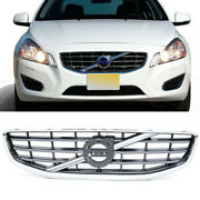 Front Upper Grille Grill Chrome 30795039 Fits 2011 2012 2013 Volvo S60 4-door