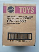 Hot Wheels Acceleracers Collectible Card Game Sealed Case 12 Booster Packs