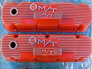 Vintage Classic M/t Mickey Thompson Chevrolet 427 Bbc Valve Covers Breathers