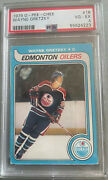 Wayne Gretzky Rookie Rc Card Psa 4 Opc O Pee Chee Solid Investment No 18