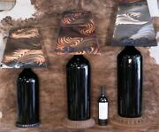 Big Wine Lamps - French Bordeaux - One Of A Kind - Famous Artist