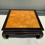 Ming Coffee Table By Ethan Allen - Chinoiserie Asian Oriental Style Furniture