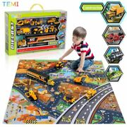 Diecast Model Engineering Tractor Toy Car 3 Racing Truck Educational Toys Trucks