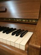 Beautiful Knight Upright Piano In Excellent Condition Walnut Case 1981