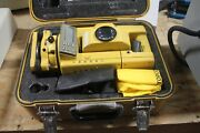 Topcon Manual Total Station Gts302 W/ Carrying Case