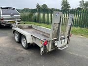 Ifor Williams Gh94bt Twin Axle Plant Trailer 2700kg