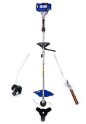 Badger 26cc 2-cycle Gas Full Crank 4-in-1 Multi-function String Trimmer With Edg