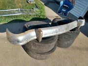 1955 - 1956 Ford Fairlane Rear Bumper With Brackets