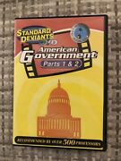 American Government Dvd Set Parts 1 And 2 Standard Deviants