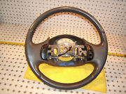 Ford 03 F150 F250 Excursion Larriat Gray Leather Steering 1 Wheel And No Bag Cover
