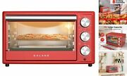 Grh1209rdrm151 Large 6-slice True Convection Toaster Oven, 8-in 0.9 Cu.ft Red