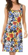 Chborchicen Womenand039s Summer Casual Floral Printed Vest Dresses Sexy Scoop Sundres