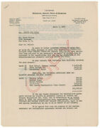 Orson Welles - Document Signed 04/02/1946 Co-signed By Arnold M. Grant