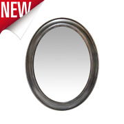 Oval Wall Mirror Vintage Antique Hanging Bathroom Bedroom Home Accent Decor 30