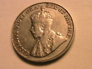 1932 Canada Five Cents Choice Vf+ Very Fine Canadian Nickel George V 5c Coin