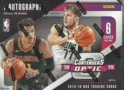 2018-19 Contenders Optic Basketball Factory Sealed Hobby Box