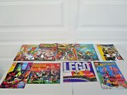 Lot Of 18 Vintage Lego Shop At Home Catalogs 1992 - 2010 Range Preowned