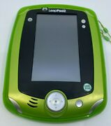 Leap Frog Leappad2 Leap Pad 2 Explorer Learning System Green W/ Cover