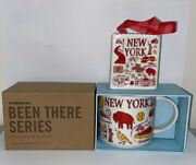 Starbucks New York Been There Series 14oz Cup Mug With Collectible Ornament