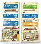 Lot 6 1960and039s Ge Disney Show And039n Tell Record Covers Only No Records Or Slides