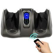 Therapeutic Foot Massager W/ High Intensity Rollers Remote 3 Modes