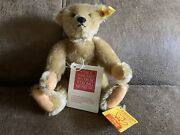 Steiff Teddy Bear Margaret Woodbury Strong Museum 1904 Relica 0155/26 Jointed
