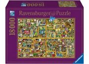 Ravensburger 18000 Piece Jigsaw Puzzle - Colin Thompson The Magical Bookcase