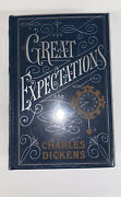 New Rare In Plastic Great Expectations Charles Dickens Hard Cover Book Novel