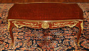 Gorgeous Inlaid Louis Xv French Style Cocktail Coffee Table