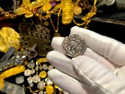 Atocha Era Bolivia 2 Reales Dated 1617 Pirate Gold Coin Jewelry Pendant Necklace