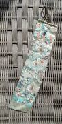19th C Chinese Hand Emb Bookmark Ribbon W Bird Fr Museum Deaccession
