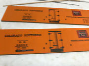 New/old Stock Kit Ye Olde Huff-n-puff 55 Truss Rod Reefer Colorado Southern Ob