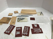 Ye Olde Huff N Puff Xm1 Standards Wagons Boxcar Ho Scale Craftsman Kit Nos