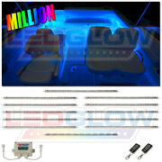 12pc Ledglow Million Color Led Boat And Marine Cabin Neon Light Kit - Waterproof