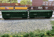 N Scale Atlas Nyc Cattle Freight Car Lot With Mtl Knuckle Couplers.