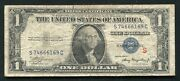 """Fr. 1610 1935-a 1 One Dollar Silver Certificate """"experimental S"""" B"""