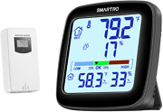 Sc92 Professional Indoor Outdoor Thermometer Wireless Digital Hygrometer Room H
