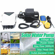 1 Dc 45v Solar Surface Water Pump Water Transfer Above Ground Pump 3000l/h Mppt