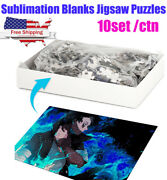 Us Stock 10set A3 Sublimation Blanks Jigsaw Puzzles 200 Pieces 297mmx420mm
