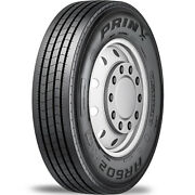 4 Tires Prinx Ar602 245/70r19.5 Load G 14 Ply Steer Commercial