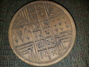 Antique Unusual Wooden 2 Sided Cookie Mold